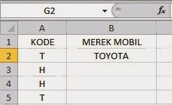 Formula IF di microsoft excel 2013